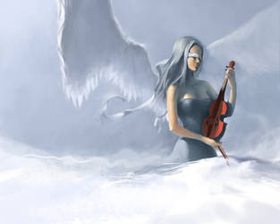 Violin Angel by jcevil