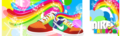 Nike Rainbows by Vasco-gfx