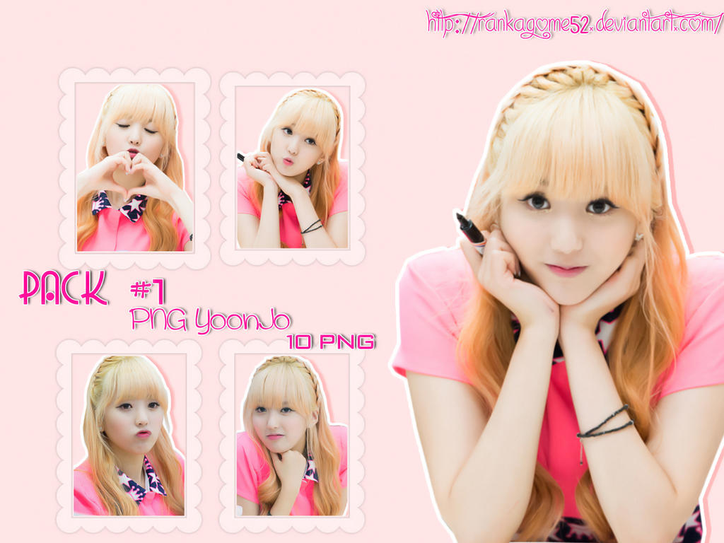 Pack #1 - PNG YoonJo by rankagome52