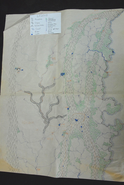 Rough Fantasy Map