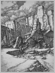 Rocks 24 by Bernardumaine