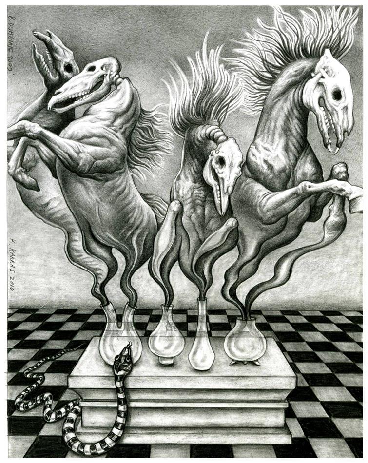 The harbingers by Bernardumaine