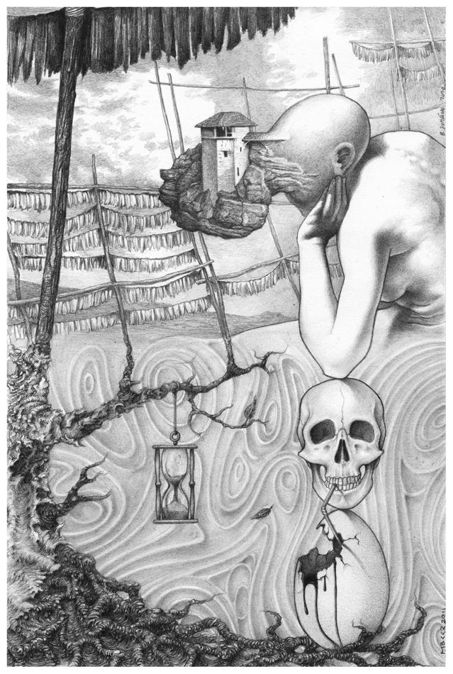 'Inbetween birth and death ... by Bernardumaine
