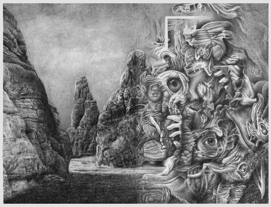 Land escapes by Bernardumaine