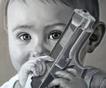 Kid with a gun