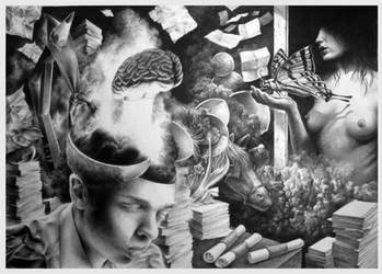 Where is my mind ? by Bernardumaine