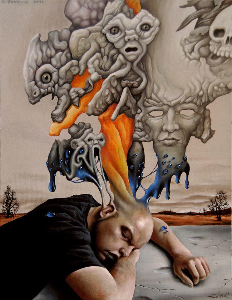 Le sommeil de la raison produit des monstres by Bernardumaine