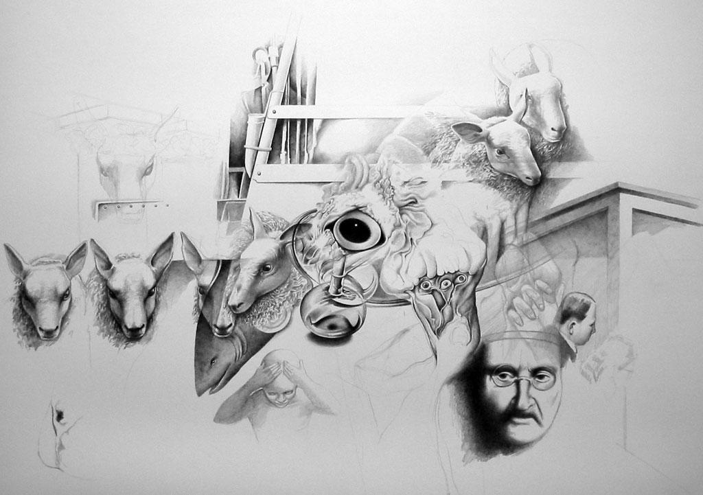 Cheap sheep by Bernardumaine