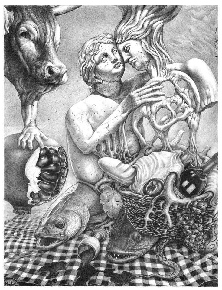 Mythic picnic by Bernardumaine