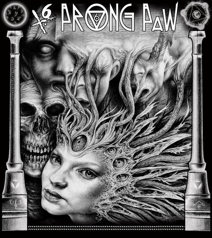 6 Prong Paw by Bernardumaine