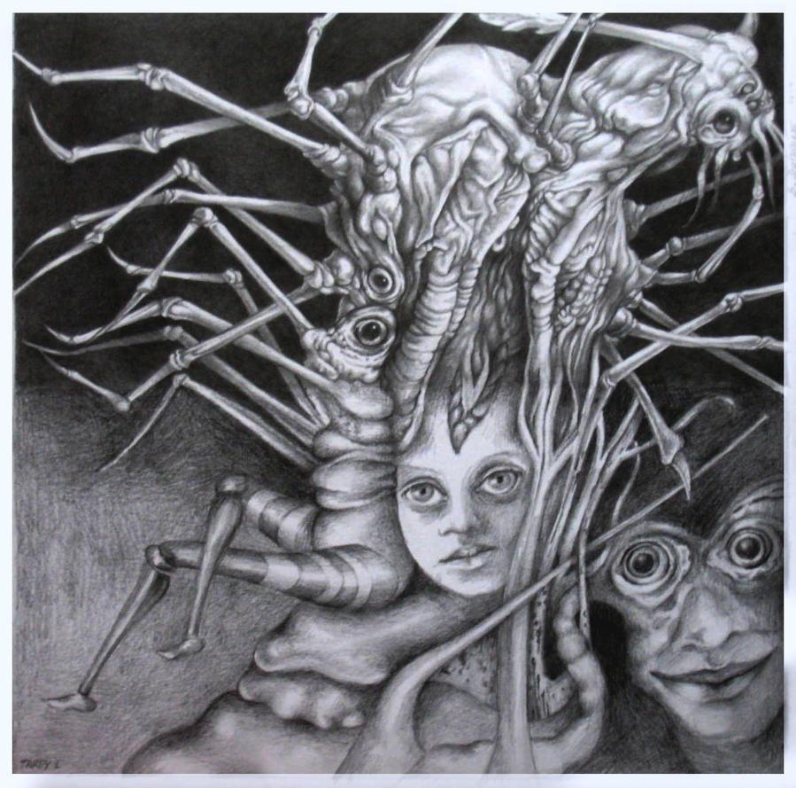 Cadavre exquis avec Lydia Tardy by Bernardumaine