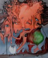 Dripping Brain by Bernardumaine