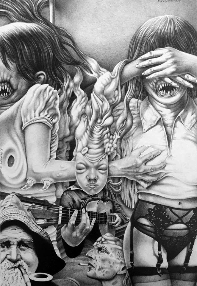 Sexy Nightmare Lullaby by Bernardumaine