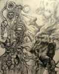 Exquisite corpse Glenn Schreiner/Bernard Dumaine