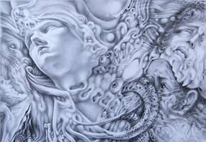 Laocoon 's curse by Bernardumaine