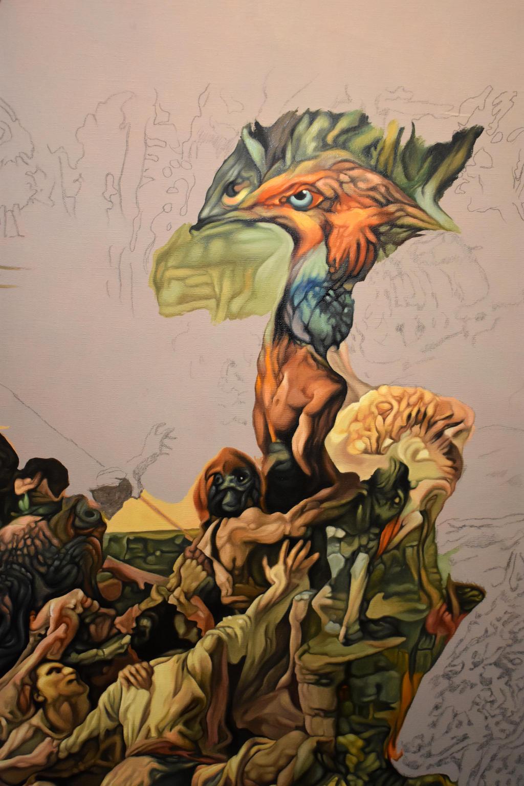 In progress... by Bernardumaine