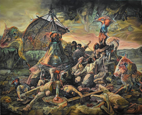 The raft of the medusa revisited
