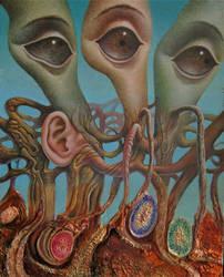 Nerfs optiques by Bernardumaine