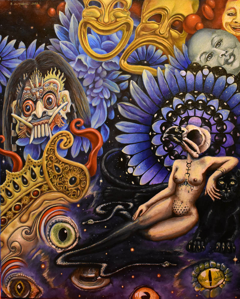 Exquisite corpse with Krisztina Lazar by Bernardumaine