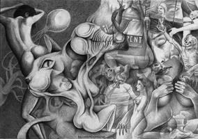 The final hourglass by Bernardumaine
