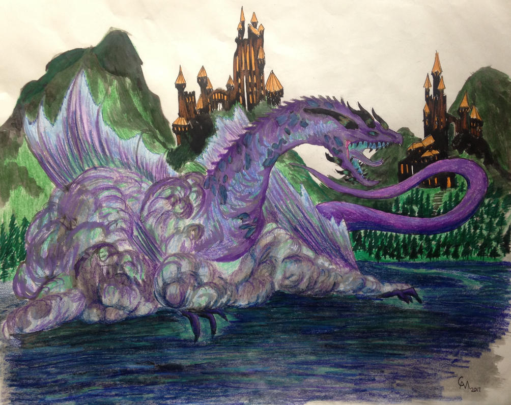 Wraith Wyvern by Labyrinth-Knights