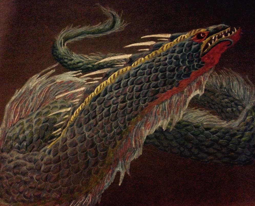 Cniama Dragon by Labyrinth-Knights