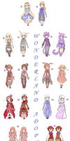 Chibi Set2 [Wonderland Adopts] - CLOSED