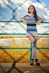 Autumn lake by xlynx