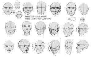 Head study by Sellenin
