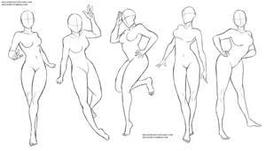 Female poses 2