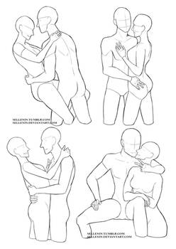 Couples reference poses