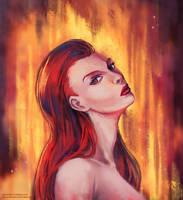 Phoenix by Sellenin
