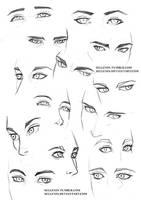 Eyes practice 2 by Sellenin