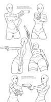 Gun poses