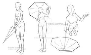 Umbrella Poses 2