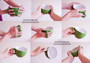 Hands reference 4 - cups