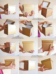 Box holding reference
