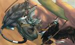 Windsonde - Chaos at the Bazaar by kuroya-ken