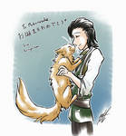 A Prince and His Cat by kuroya-ken