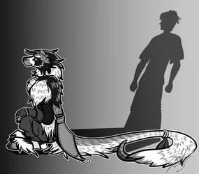Inktober - 'Shadow' by kuroya-ken