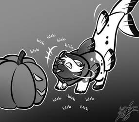 Inktober - 'Pumpkin' by kuroya-ken