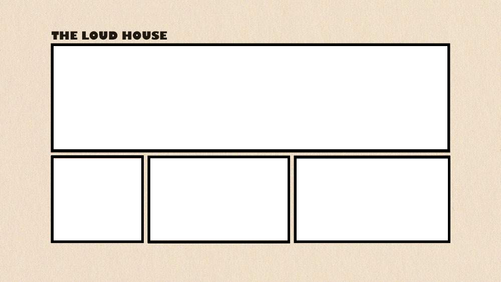 card house template