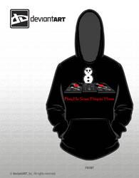 8-Bit Snowman DJ