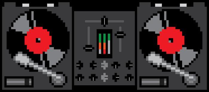 8-Bit Turntable