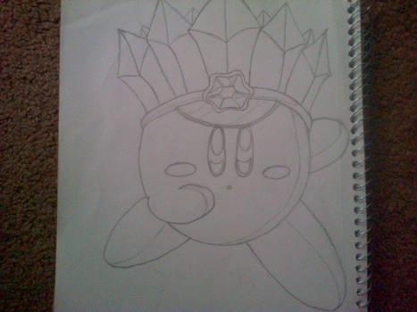 Ice Kirby Sketch