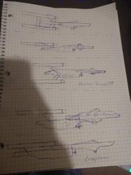 More Trek Doodles