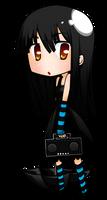 Chibi Mio? by kyrakuu
