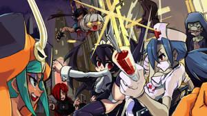 Skullgirls!!!!! by kyrakuu