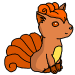tail wagging vulpix :D by Dogtorwho