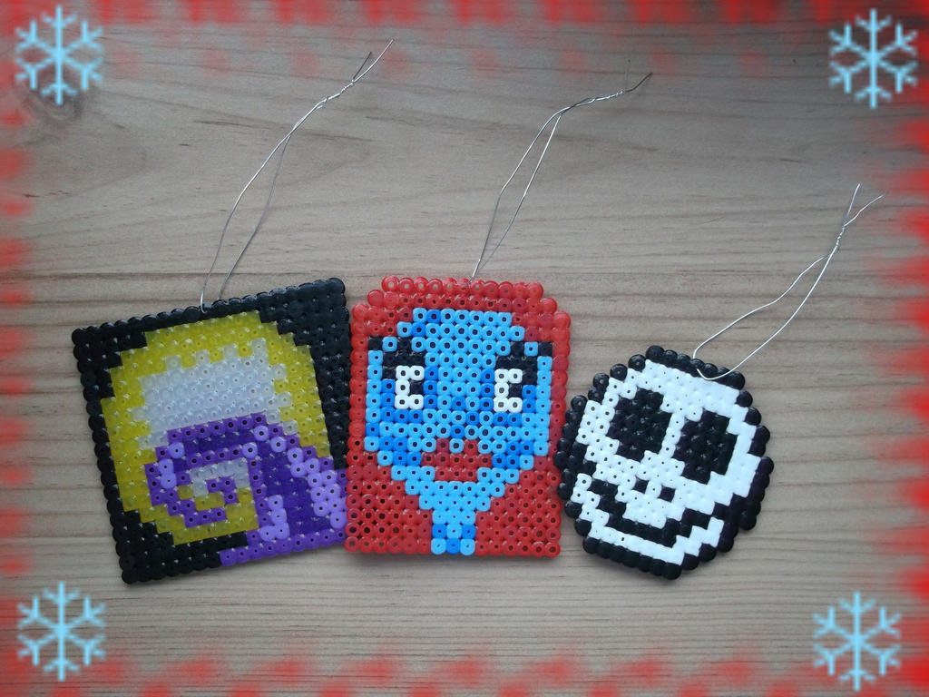 Christmas Ornaments- Nightmare Before Christmas by Dogtorwho